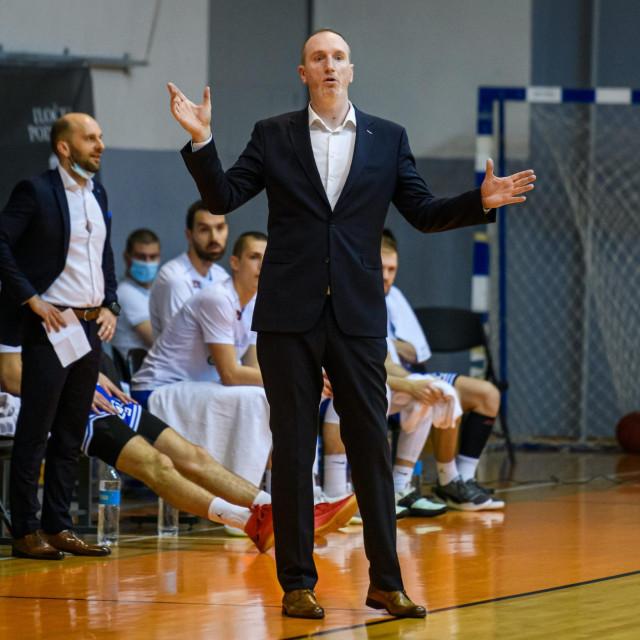 Na fotografiji: Ivan Perincic, vd trener Zadra<br />