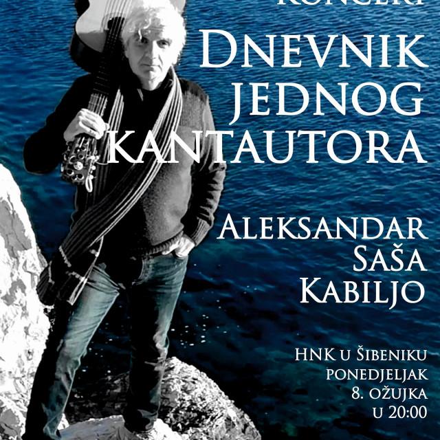 Koncert Saše Kabilja