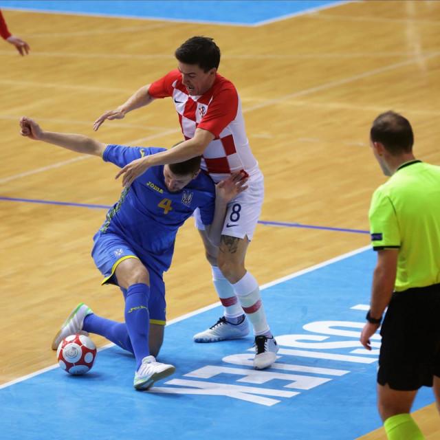 Dario Marinović protiv Ukrajina u Osijeku foto: Vlado Kos/CROPIX