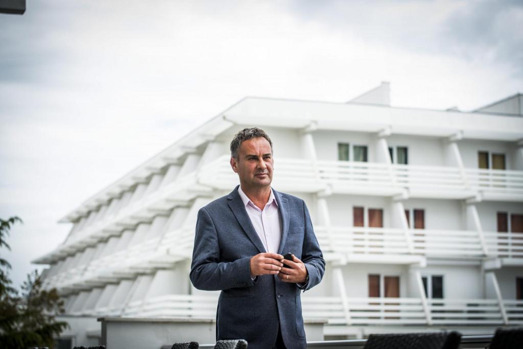 Darko Bastić, direktor hotela Olympia Sky u Vodicama