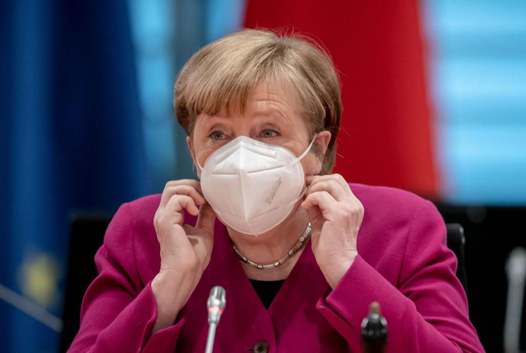 (Photo by Michael Kappeler/POOL/AFP)