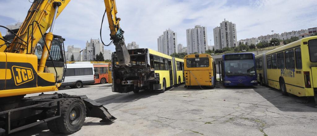 Stari autobusi su rashodovani