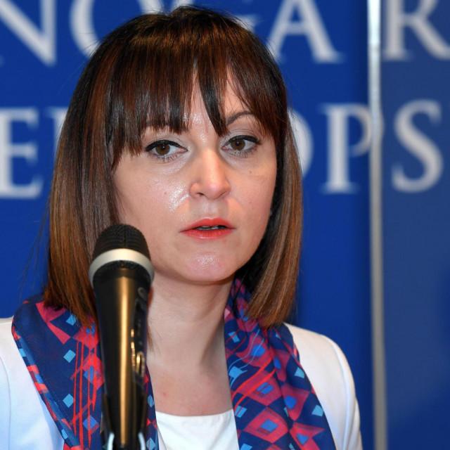 Ministrica Nataša Tramišak