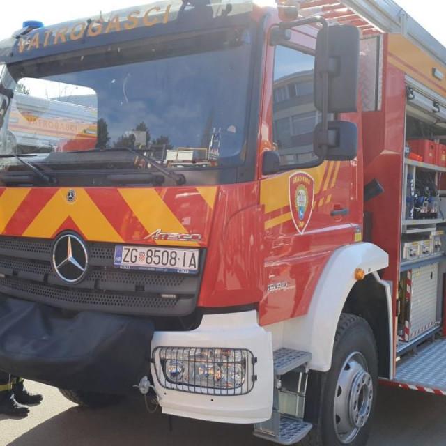 Novo navalno vozilo stiglo je u Knin