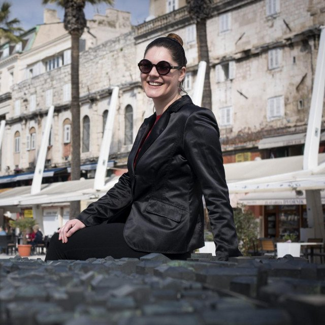 Marijana Morić, slijepa turistička vodičica<br />