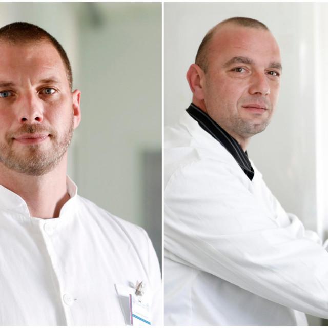 Na fotografiji: dr. sc. Vladimir Stevanović, dr. sc. Ljubo Barbić