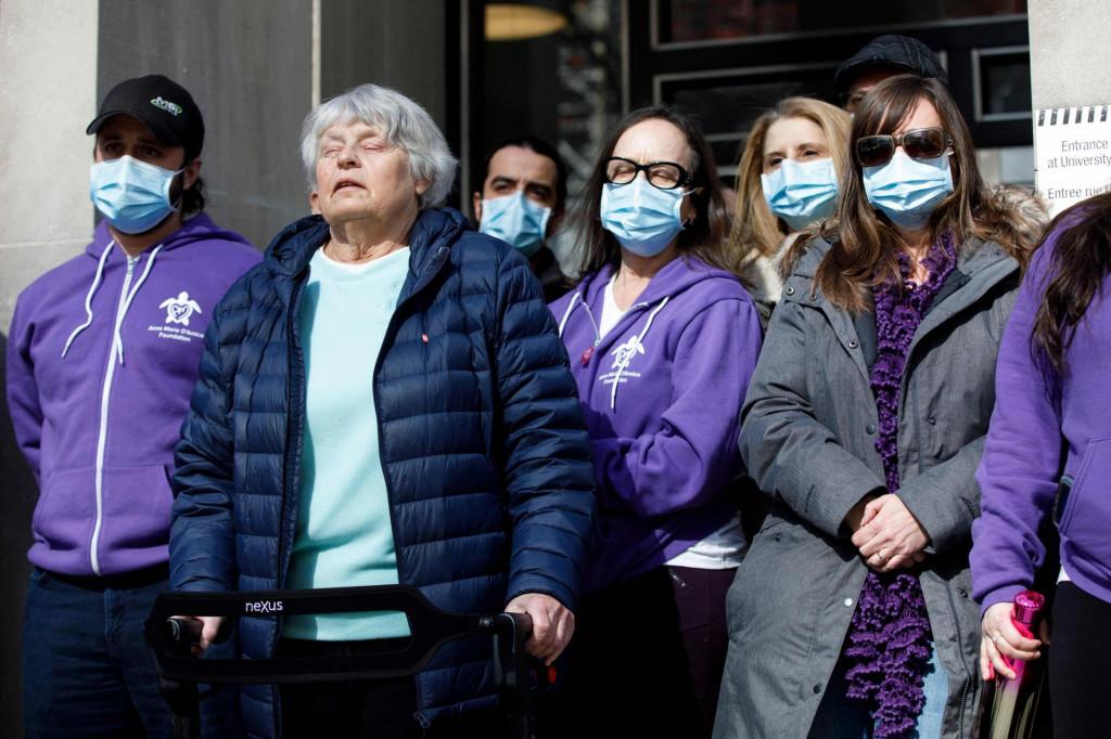 Preživjele žrtve i obitelji i prijatelji preminulih pred sudom su čekali presuduAleku Minassianu