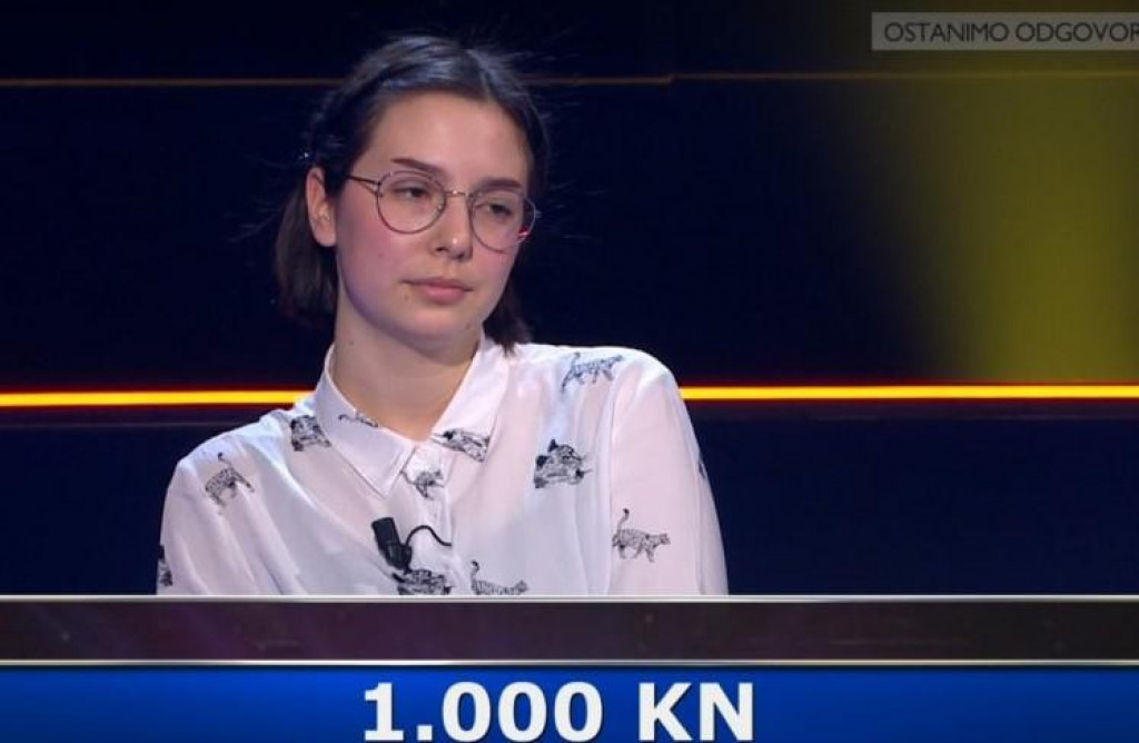 """Hana Vlahov imala je zapažen nastup u """"Potjeri""""."""