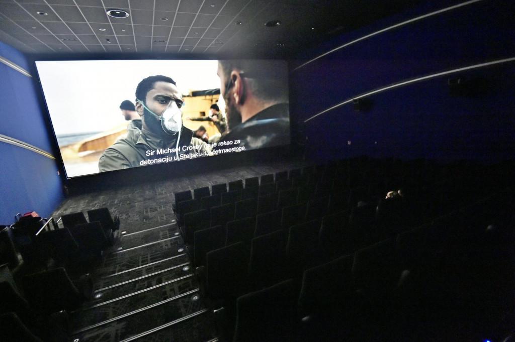 S 56.586 gledatelja i utrškom većim od dva milijuna kuna 'Tenet' je najveći kinohit u 'novom (ne)normalnom'