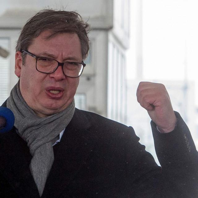 Aleksandar Vučić u retoričkom zanosu