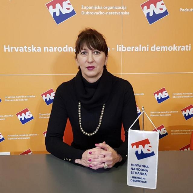 Nataša Gabričević, predsjednica dubrovačkog HNS-a