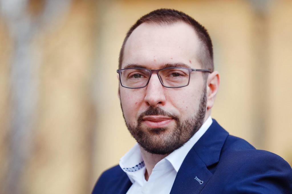 Zagreb, 220121.<br /> Gornji grad.<br /> Tomislav Tomasevic, celnik politicke platforme Mozemo.<br />