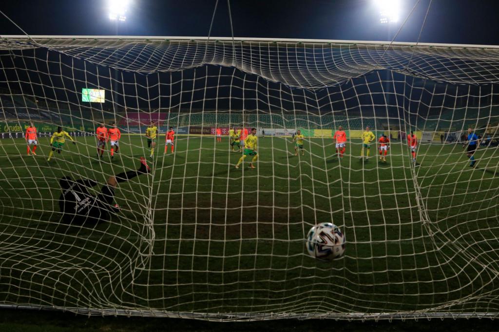 Šime Gržan izjednačio je rezultat iz penalka i najavio puno bolju igru svoje momčadi u nastavku susreta