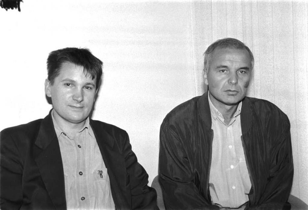Mladen Ločar iz davnih dana, snimljen 1996. godine kada je krenuo u svoj istraživački pothvat. Eto, više neće ometati 'pravdu'