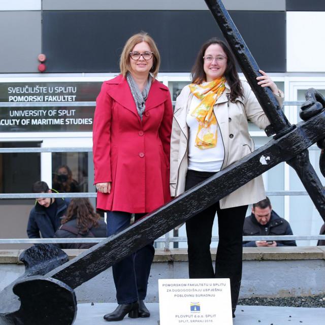 Liane Roldo i Zaloa Sanchez Varela, obje planiraju nastaviti živjeti u Splitu