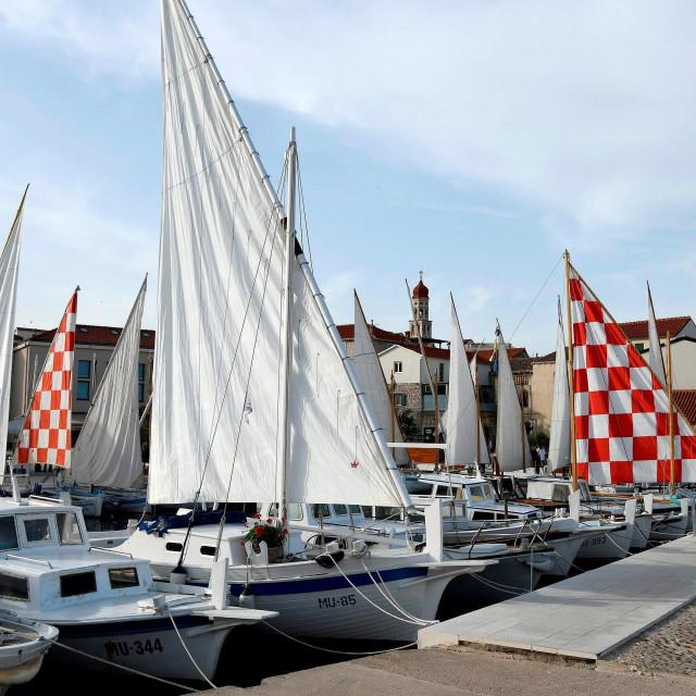 Vanjski prostor Muzeja betonske drvene brodogradnje