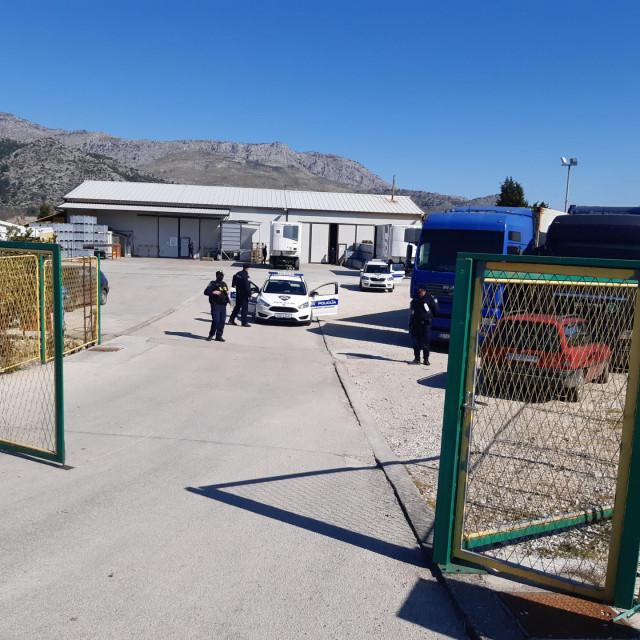 Policijska akcija u Opuzenu<br /> foto: Cropix