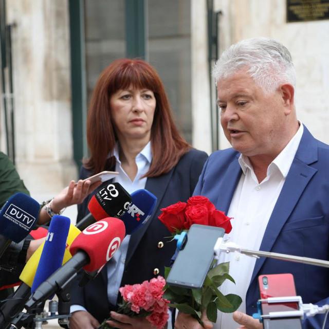 Andro Vlahušić, kandidatura za gradonačelnika