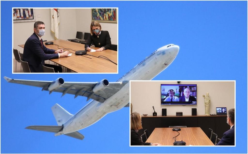 """Gradonačelnik je održao sastanak s generalnim direktorom Airport Council Internationala na temu """"zelenih putovnica"""""""