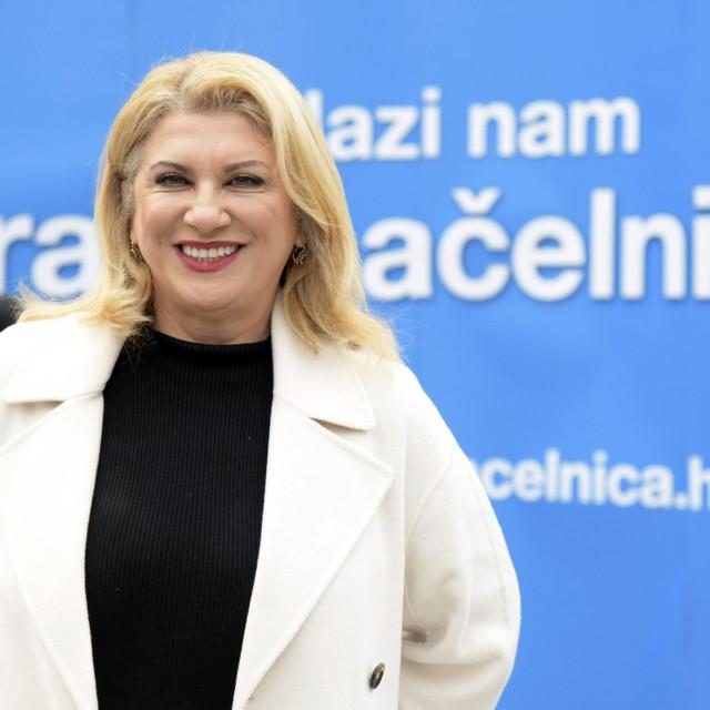 U kampanji za gradonačelnicu Zagreba
