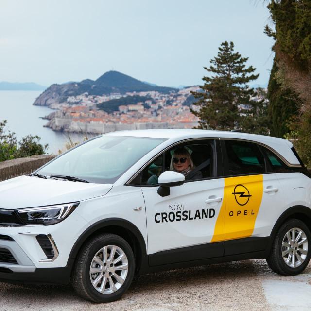 Opel Crossland vozila je Ivana Androić