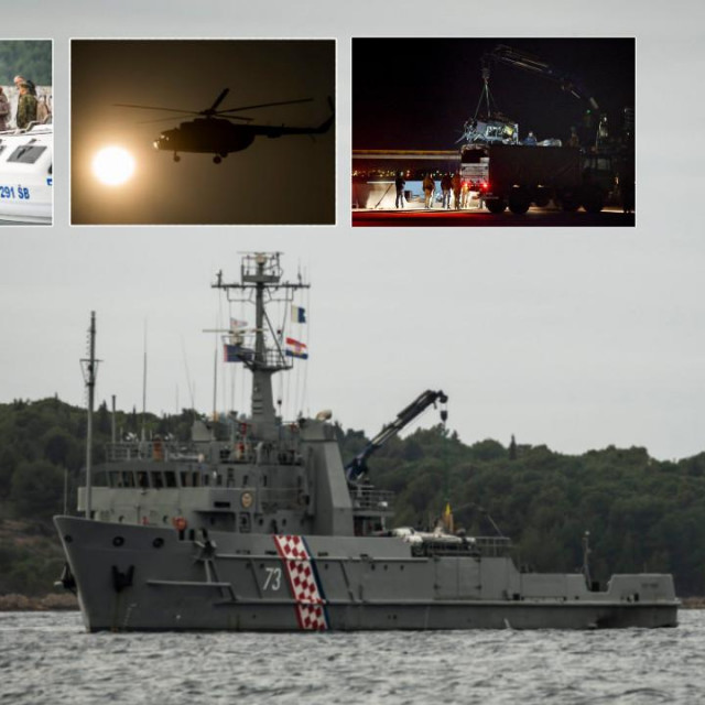 Prije nešto više od godinu dana u moru kod Zlarina srušio se vojni helikopter pri čemu su poginula dva pilota