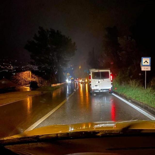 Prometna nesreća u Kuparima