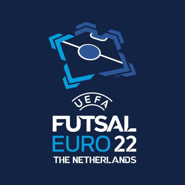 Logo Europskog malonogometnog prvenstva 2022. u Nizozemskoj