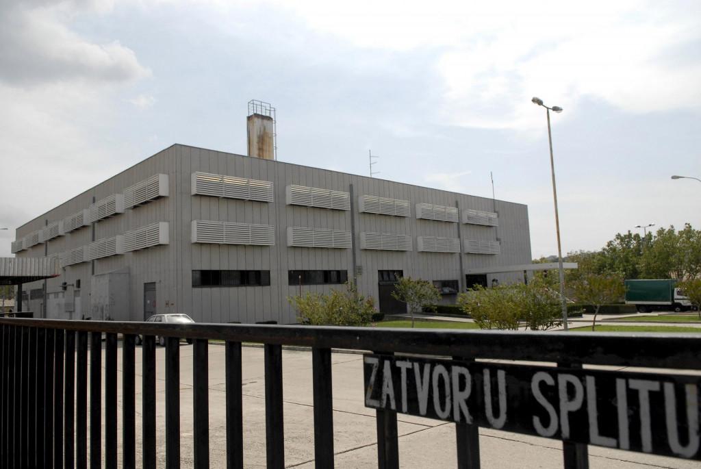 Zatvor Bilice u Splitu u koji je sproveden osumnjičeni za prijetnje
