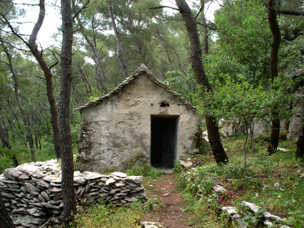 Kuća babe Marte na Marjanu
