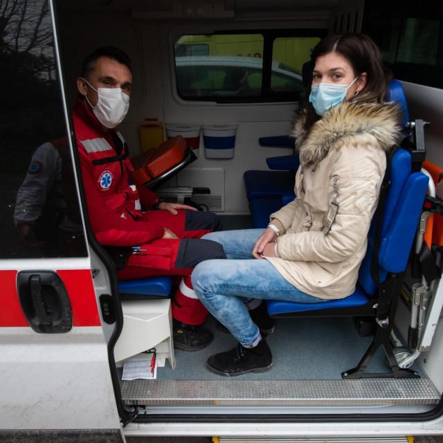 Vozila sanitetskog prijevoza koji iz Zadra u Split voze onkološke pacijente