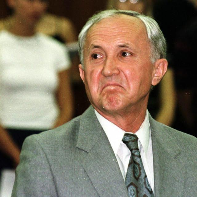 Mirko Graorac prilikom izricanja presude