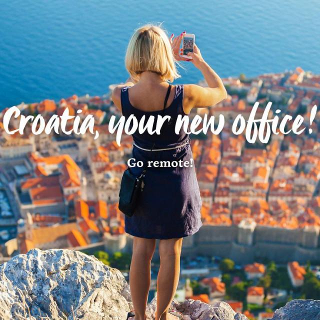 Pokrenuta je kampanja za digitalne nomade 'Croatia, your new office!'