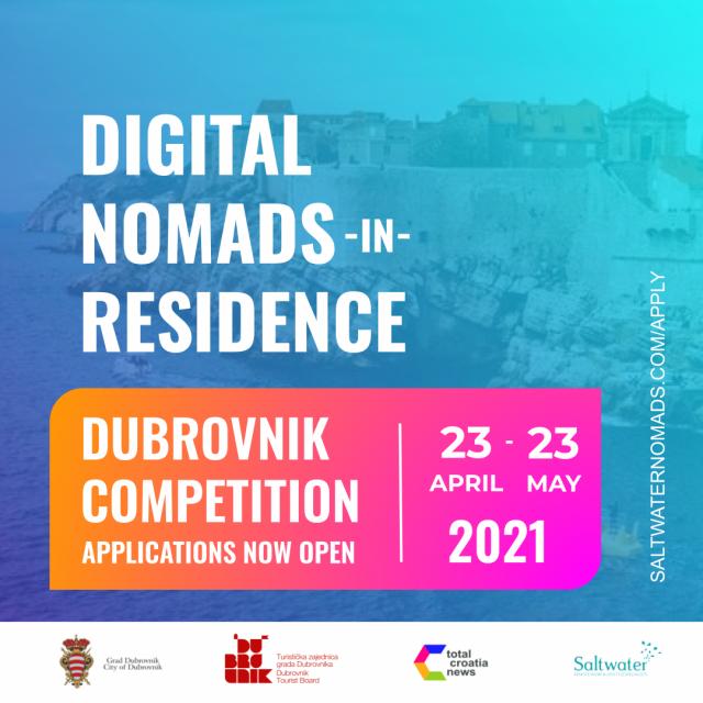 Natjecanje namijenjeno digitalnim nomadima cijeloga svijeta u organizaciji Grada Dubrovnika i Turističke zajednice grada Dubrovnika