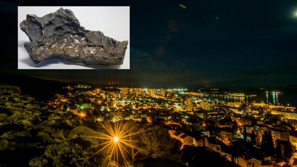 Krajem veljače ove godine snimljen je pad meteora na području Dalmacije, točnije šibenskog zaleđa