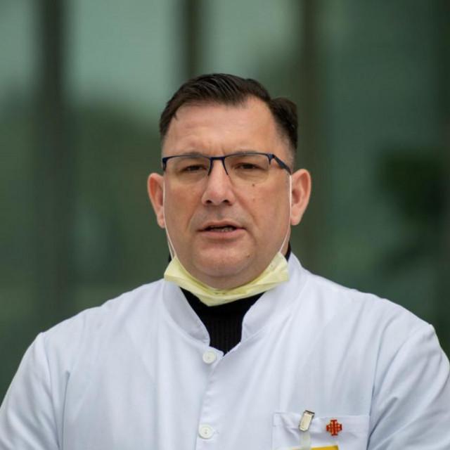 Ravnatelj Opće bolnice Dubrovnik dr. Marijo Bekić