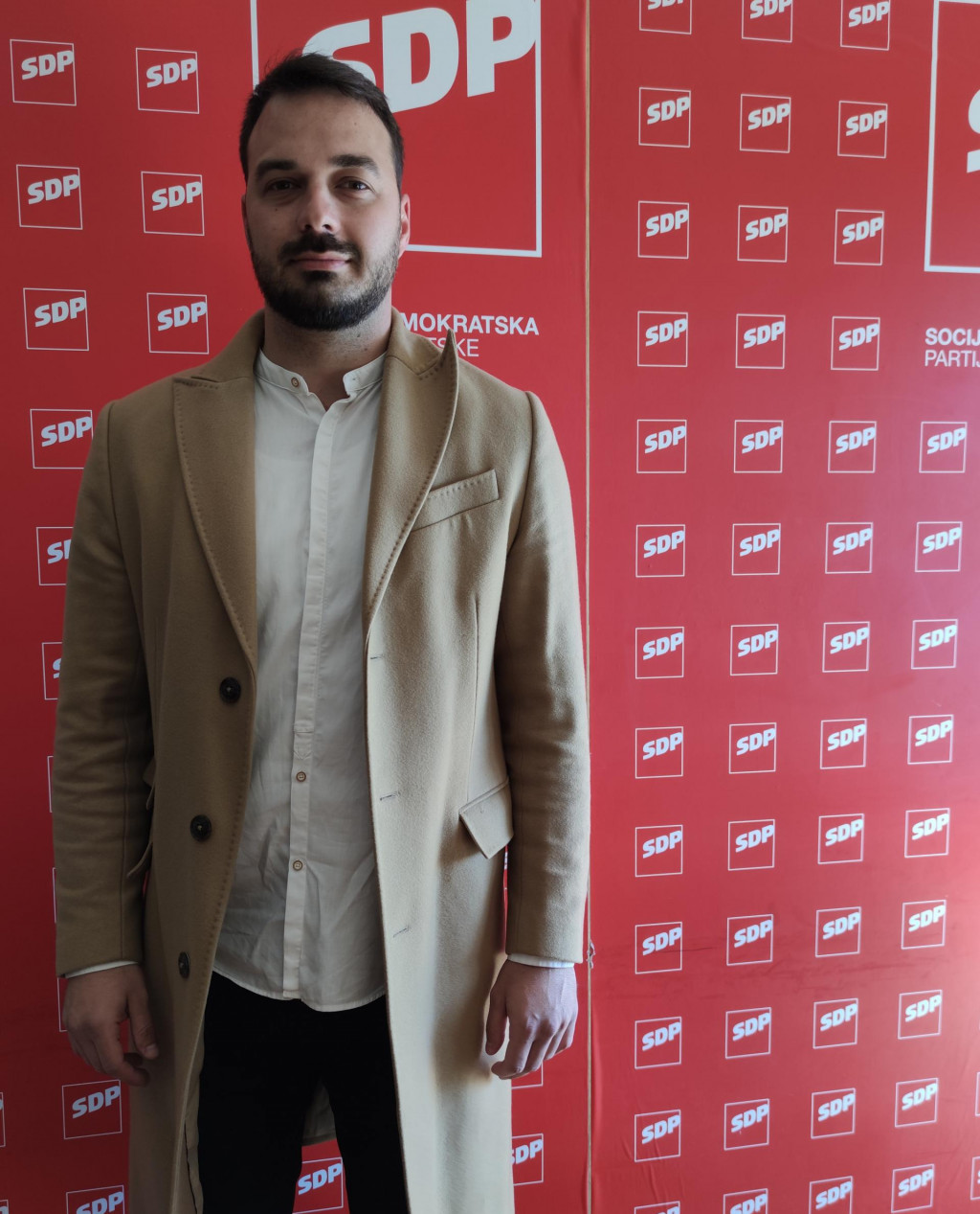 Ivan Tropan, kandidat SDP-a za gradonačelnika dubrovnika