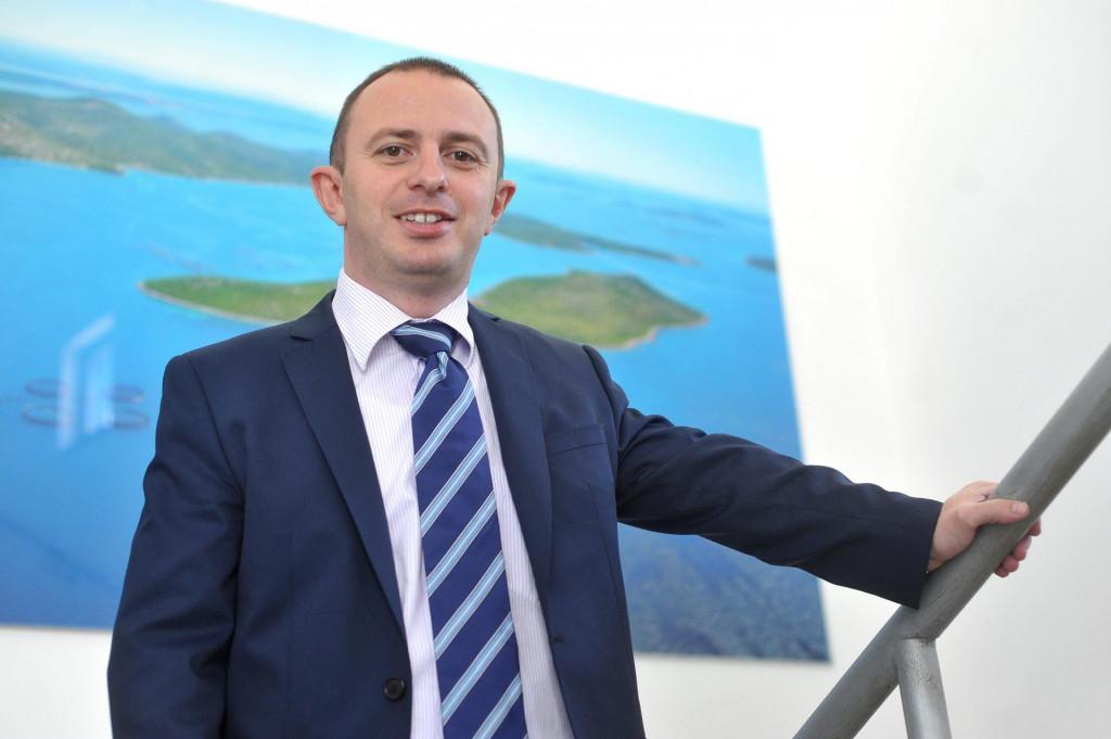 Na fotografiji: Goran Markulin, bivši direktor tvrtke Cromaris.<br />