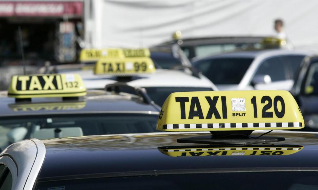 Split, 060414.<br /> Uduga Radio taxi Split ogradila se od istupa svoga kolege i podrzavaju odluke grada Splita.<br />