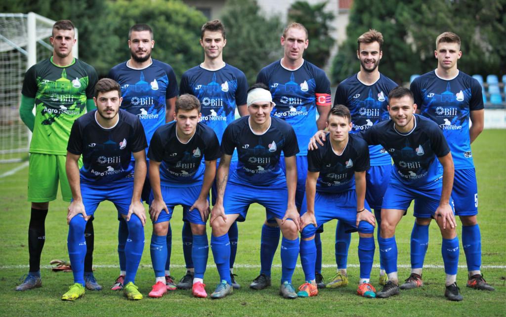 Neretvanac uoči utakmice s BŠK Zmaj u Opuzenu u sezoni 2020./21. foto: Tonči Vlašić