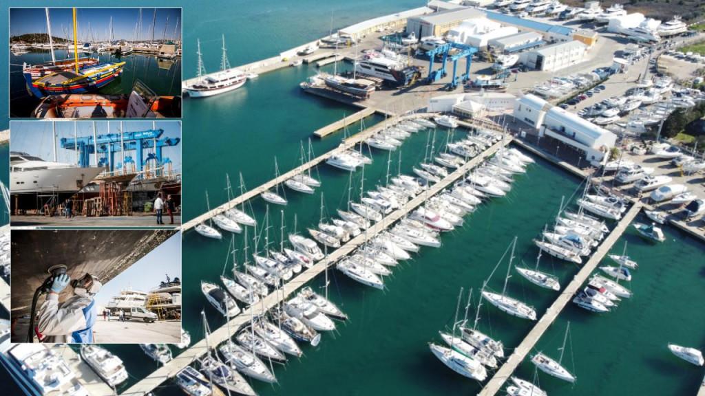 Brodogradilište i marina u Betini