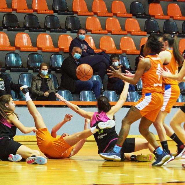 Košarkašice Šibenika pobijedile Trešnjevku
