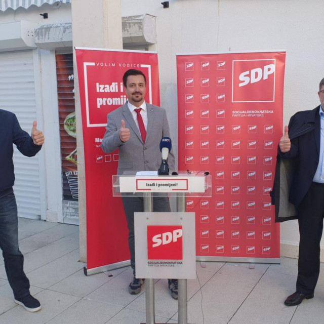 Joško Šupe, Marko Udovičić i Tonino Picula