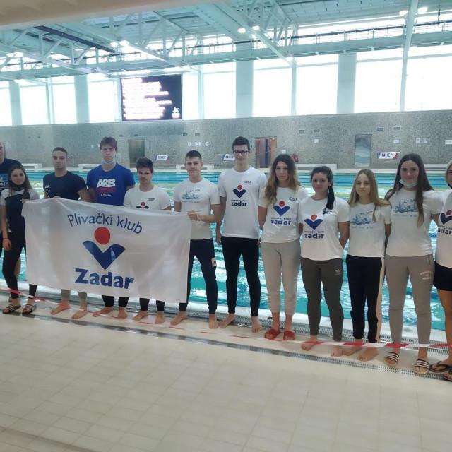 Plivači PK Zadar na natjecanju u Zagrebu
