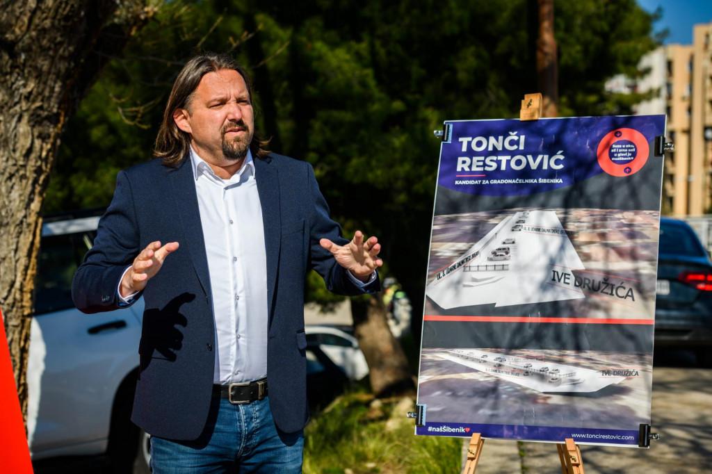 <br /> Tonči Restović SDP-ov kandidat za gradonačelnika