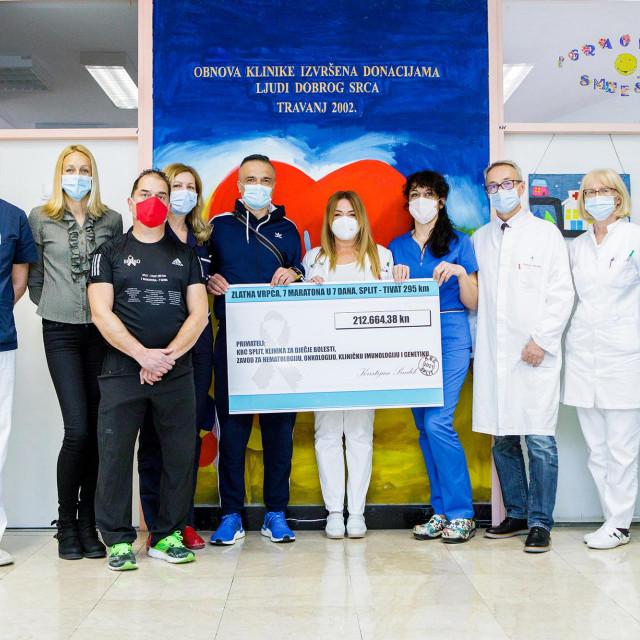 Donacija Dječjoj onkologiji KBC-a Split