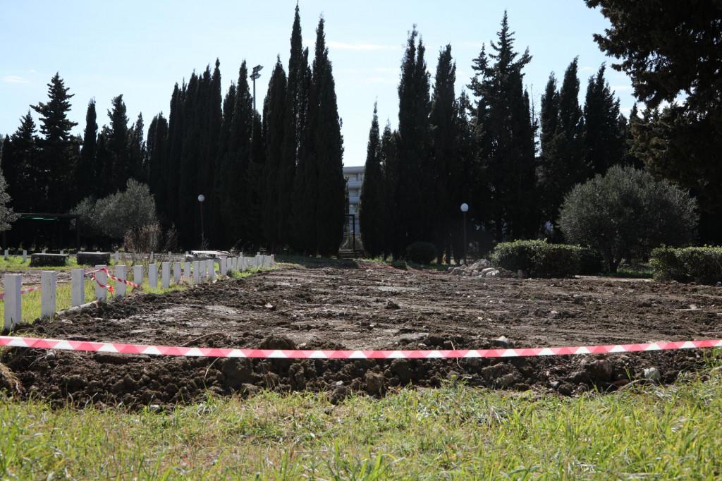 Lokacija arheloškog nalazišta na kojem je pronađen podni mozaik iz rimskog doba