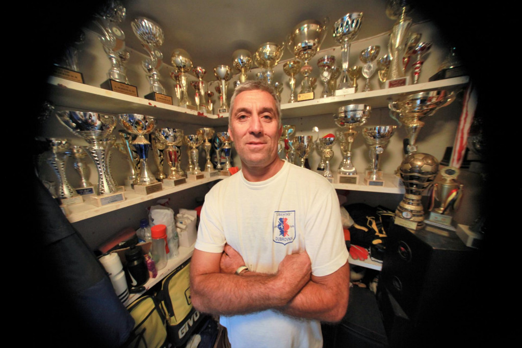 Ivica Cumeljan, sportski direktor Nogometnog kluba Nogometna akademija Libertas
