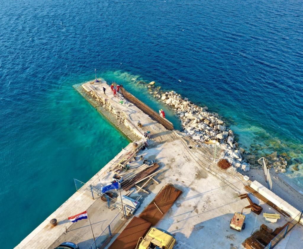 Projekt obnove lukobrana Puntin u Korčuli vrijedan je 10 i pol milijuna kuna