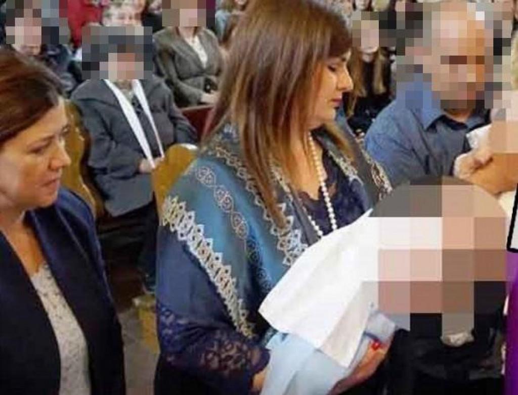 Djetetu Marijane Obradović ministrica Gabrijela Žalac bila je krsna kuma 10. ožujka, samo dan nakon prometne nesreće u kojoj je u Vinkovcima naletjela na djevojčicu